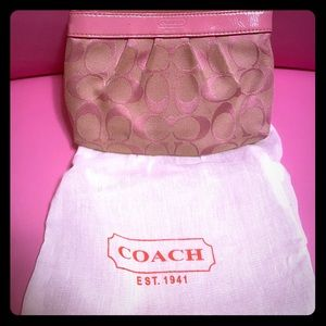 Vintage coach bag with dust bag
